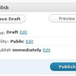Wordpress: Schedule to Publish a Post